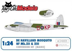 Mosquito NF Mk. XII / XIII Conversion Set (Masks)